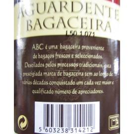 AGUARDENTE BAGACEIRA A.B.C. BRANCO