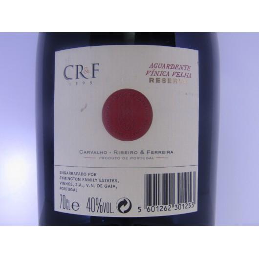 AGUARDENTE C.R.F RESERVA