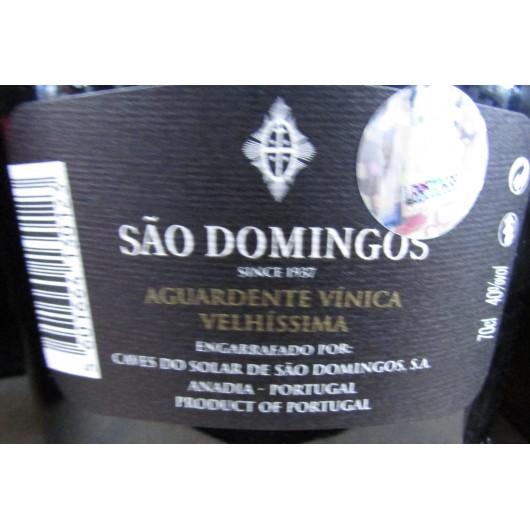 AGUARDENTE VELHISSIMA SAO DOMINGOS