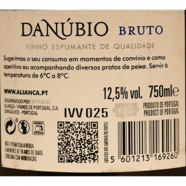 ESPUMANTE ALIANÇA DANÚBIO RESERVA BRUTO BRANCO