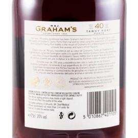 GRAHAMS 40 ANOS