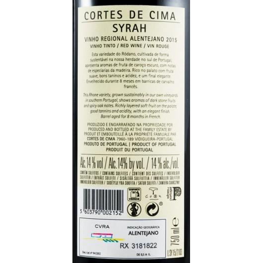 CORTES DE CIMA SYRAH TINTO