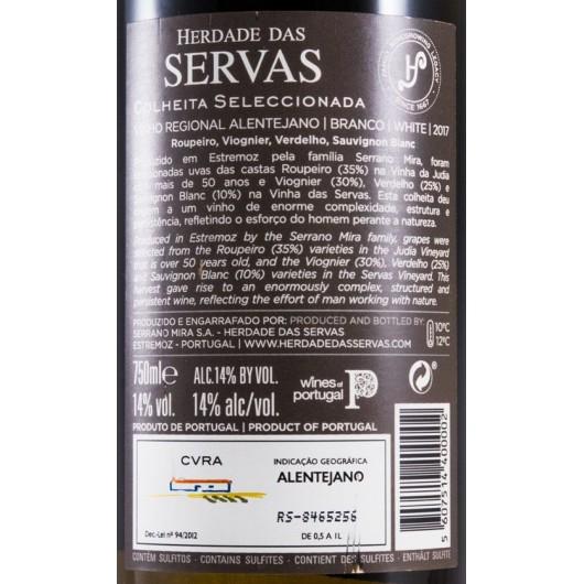 HERDADE DAS SERVAS COLHEITA SELECCIONADA BRANCO