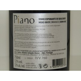 ESPUMANTE PIANO RESERVA  MEIO SECO