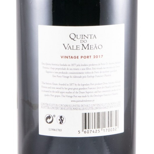 VALE MEAO VINTAGE 2017