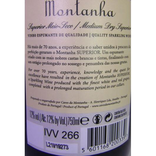 ESPUMANTE MONTANHA SUPERIOR MEIO SECO
